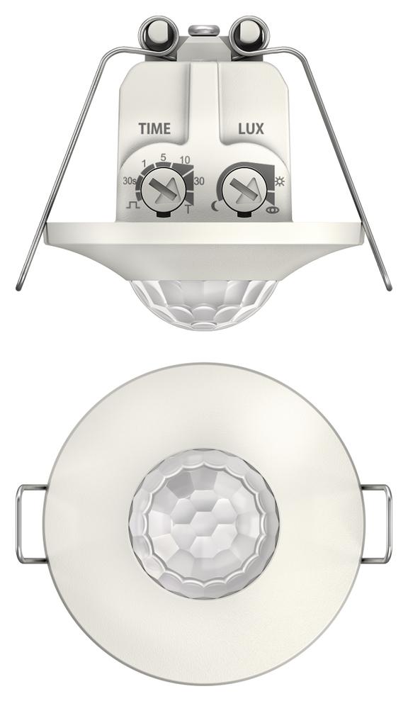 1 Stk Bewegungsmelder für Deckenmontage, 360°/Ø8m/IP21/IP20, weiß EST1060200