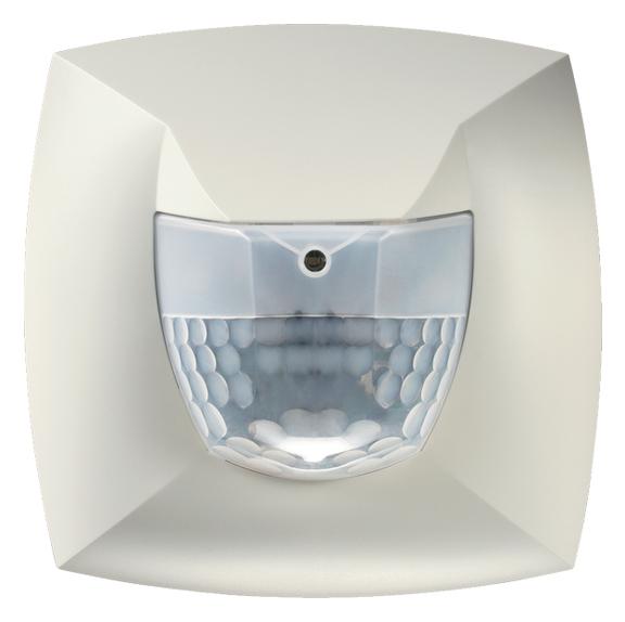 1 Stk Präsenzmelder für Wandmontage, 180°, Ø8m, IP54, weiß EST2000050