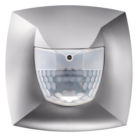 1 Stk Präsenzmelder für Wandmontage, 180°, Ø8m, IP54, silber EST2000804