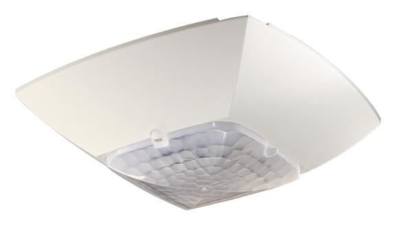 1 Stk LON-Präsenzmelder für Deckenmontage, 360°/49m²/IP40, weiß EST2009100
