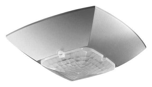 1 Stk LON-Präsenzmelder für Deckenmontage, 360°/49m²/IP40, silber EST2009102