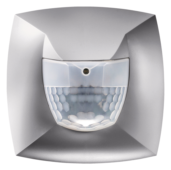 1 Stk KNX-Präsenzmelder für Wandontage, 180°, 100m², IP54, silber EST2009816