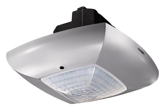 1 Stk DALI-Präsenzmelder für Deckenmontage, 360°/49m²/IP40, silber EST2010012
