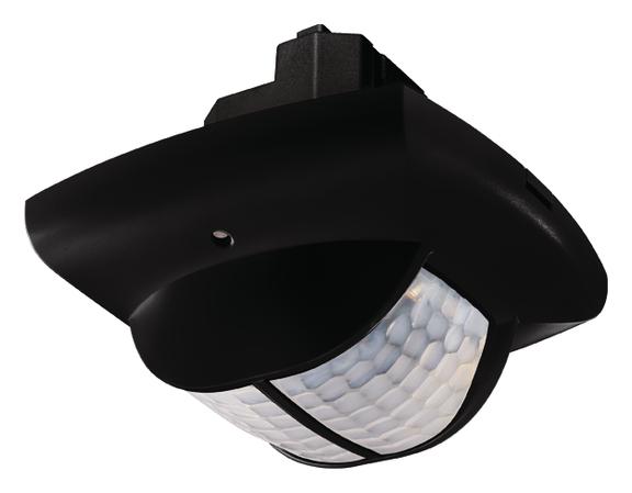 1 Stk Präsenzmelder für Deckenmontage, 360°, 150m², IP40, schwarz EST2010806