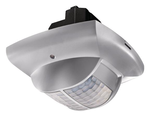 1 Stk Präsenzmelder für Deckenmontage, 360°, 49m², IP40, silber EST2010810
