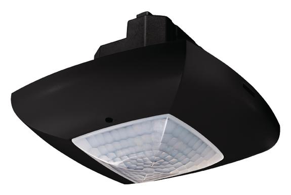 1 Stk Präsenzmelder für Deckenmontage, 360°, 49m², IP40, schwarz EST2014803