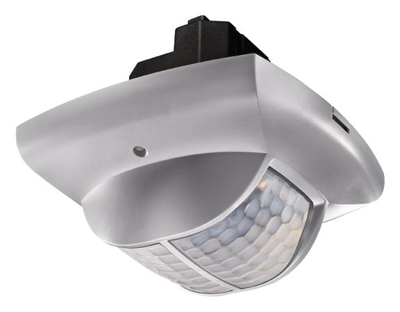 1 Stk Präsenzmelder für Deckenmontage, 360°, 135m², IP40, silber EST2014807