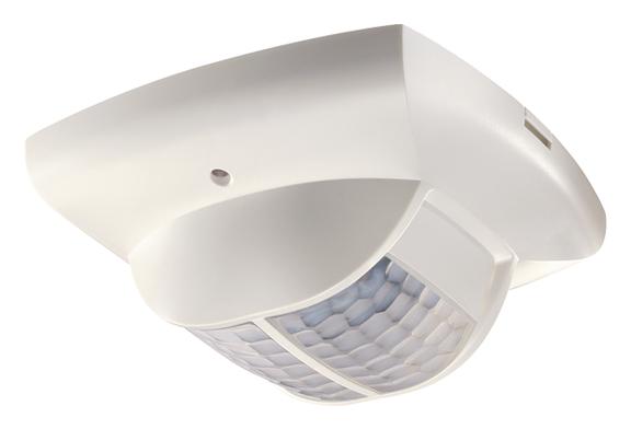 1 Stk KNX-Präsenzmelder für Deckenmontage, 360°/68m²/IP40, weiß EST2019280