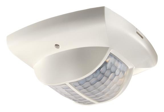 1 Stk KNX-Präsenzmelder für Deckenmontage, 360°/135m²/IP40, weiß EST2019290