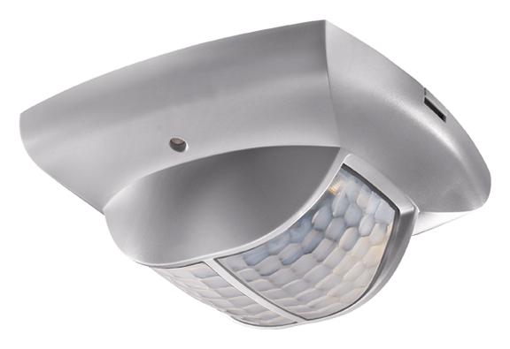 1 Stk KNX-Präsenzmelder für Deckenmontage, 360°/135m²/IP40, silber EST2019804