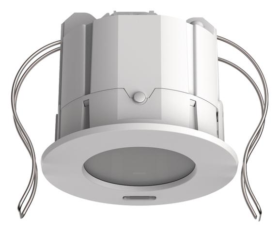 1 Stk KNX-Präsenzmelder für Deckeneinbau, 360°/49m²/IP20, weiß  EST2039300