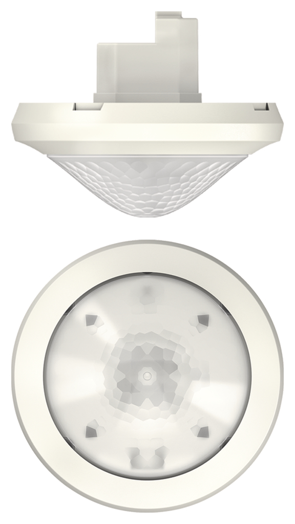 1 Stk Präsenzmelder für Deckenmontage, 360°/Ø24m/IP54, Slave, weiß EST2080030