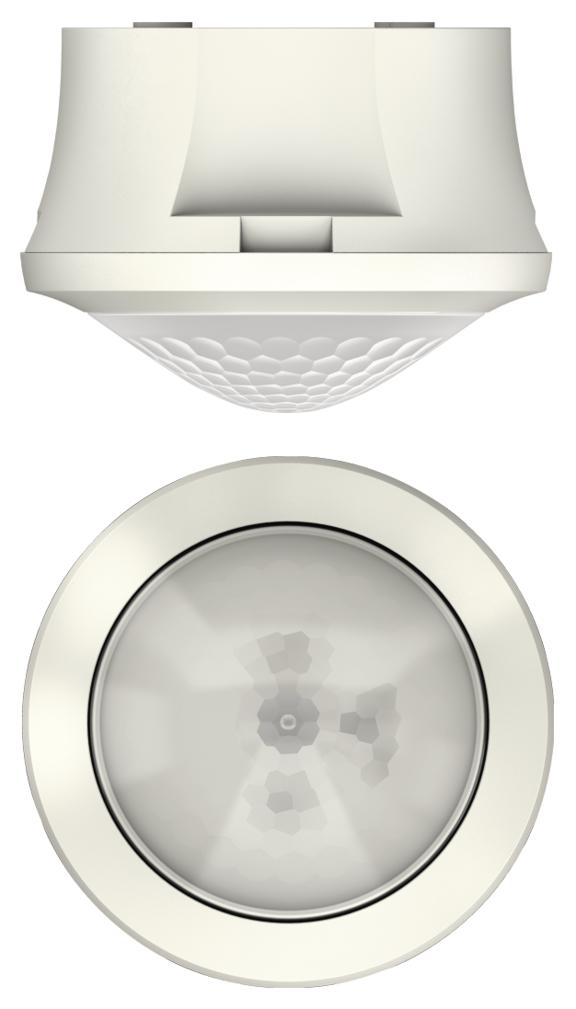 1 Stk Präsenzmelder für Deckenmontage, 360°/Ø8m/IP54, weiß EST2080550