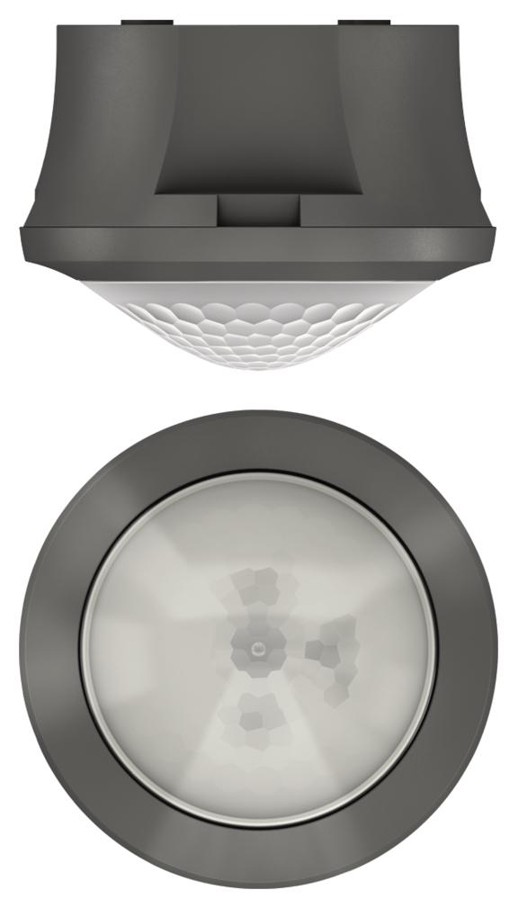 1 Stk Präsenzmelder für Deckenmontage, 360°/Ø8m/IP54, grau EST2080551