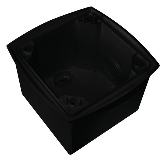 1 Stk Rahmen, Aufputz, PräsenzLight schwarz EST9070634