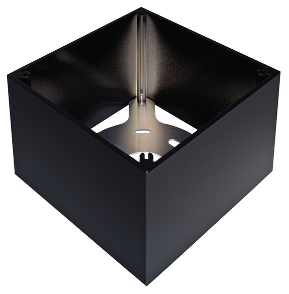1 Stk Rahmen, Aufputz, PlanoBox 1 schwarz EST9070732