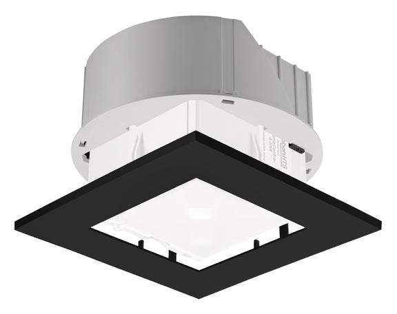 1 Stk Einbau-Set zu PlanoCentro, quadratisch, schwarz EST9070737
