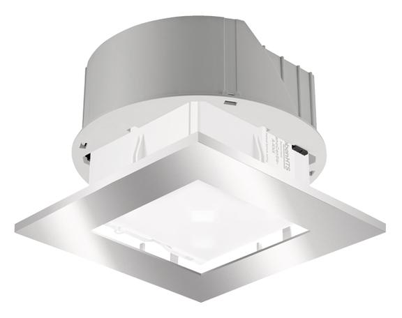 1 Stk Einbau-Set zu PlanoCentro, quadratisch, silber EST9070738