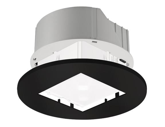 1 Stk Einbau-Set zu PlanoCentro, rund, schwarz EST9070741