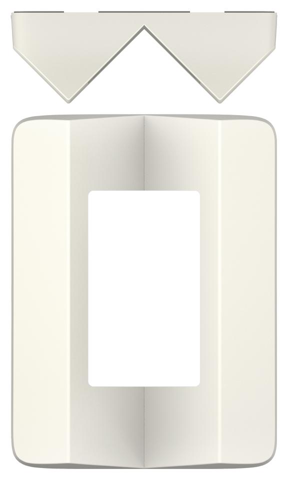 1 Stk Eckmontagewinkel theLuxa P, weiß EST9070904