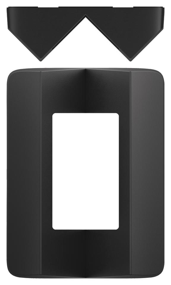 1 Stk Eckmontagewinkel theLuxa P, schwarz EST9070905