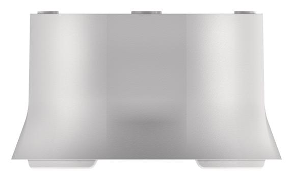 1 Stk Rahmen 110A, Aufputz, weiß EST9070912