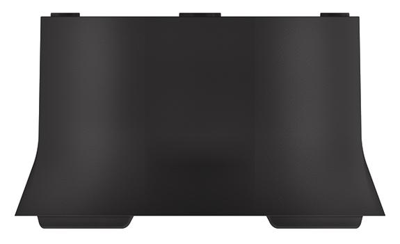 1 Stk Rahmen 110A, Aufputz, grau EST9070913