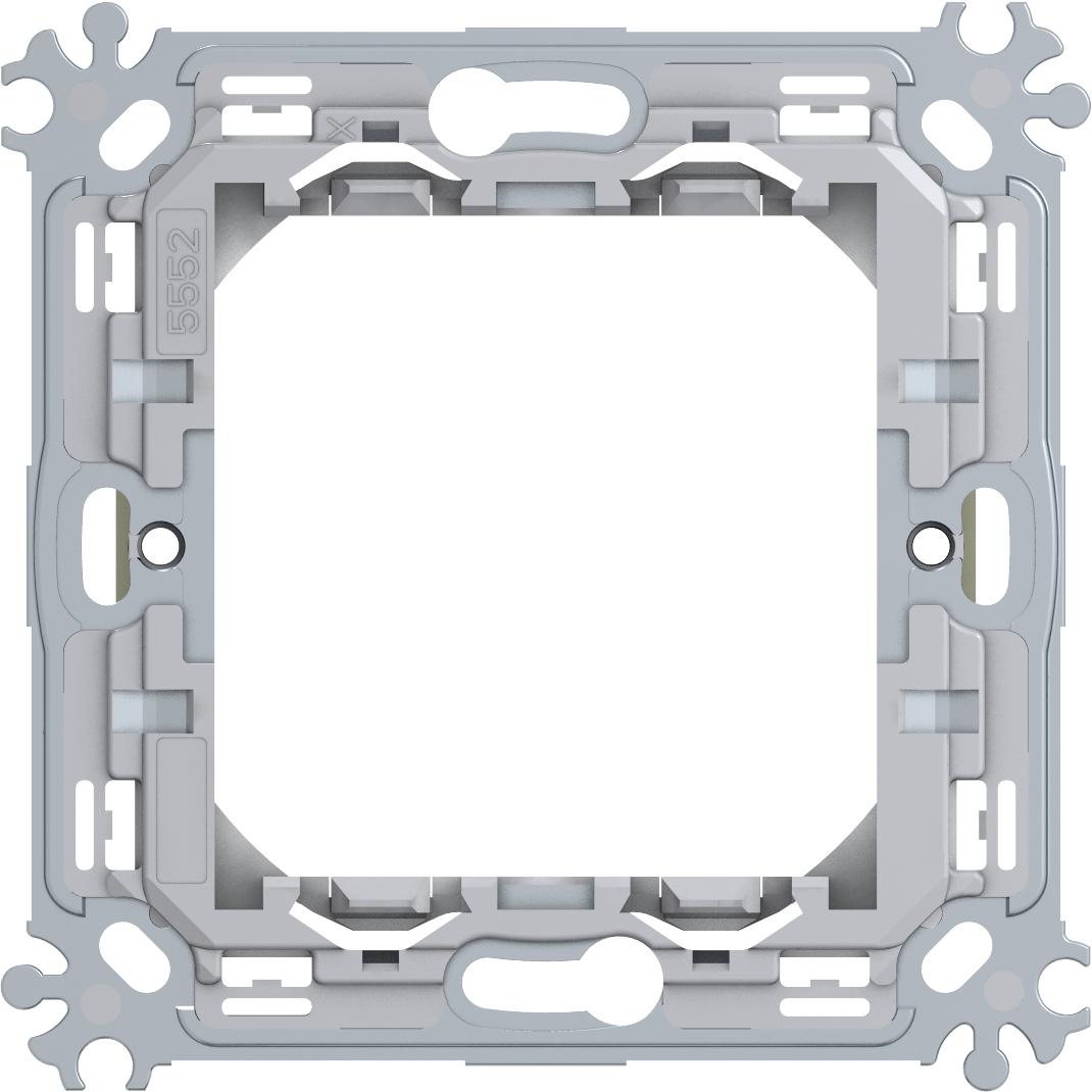 1 Stk Montagerahmen Metall ohne Krallen 2M ET1050041-