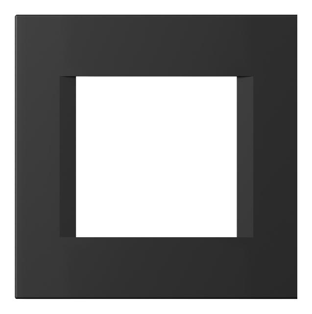 1 Stk Rahmen 2M, schwarz matt ET145014SM