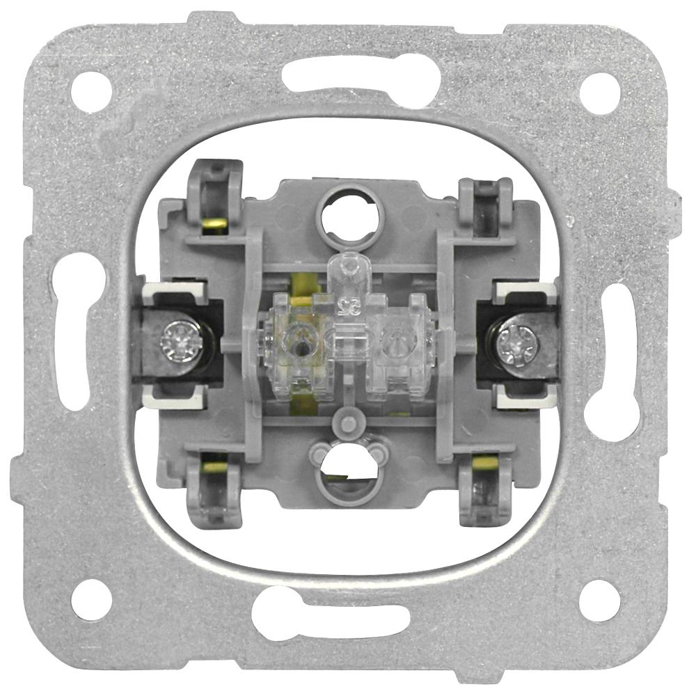 1 Stk Wechselschalter-Einsatz, Steckklemmen EV100011--