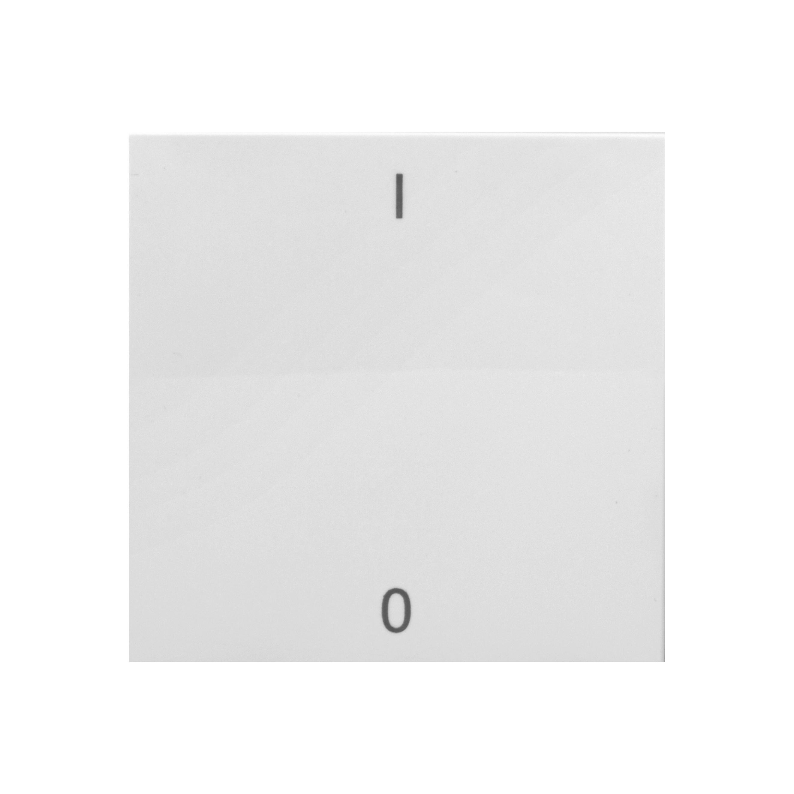 1 Stk Wippe mit Symbol EIN/AUS, weiß EV102017--