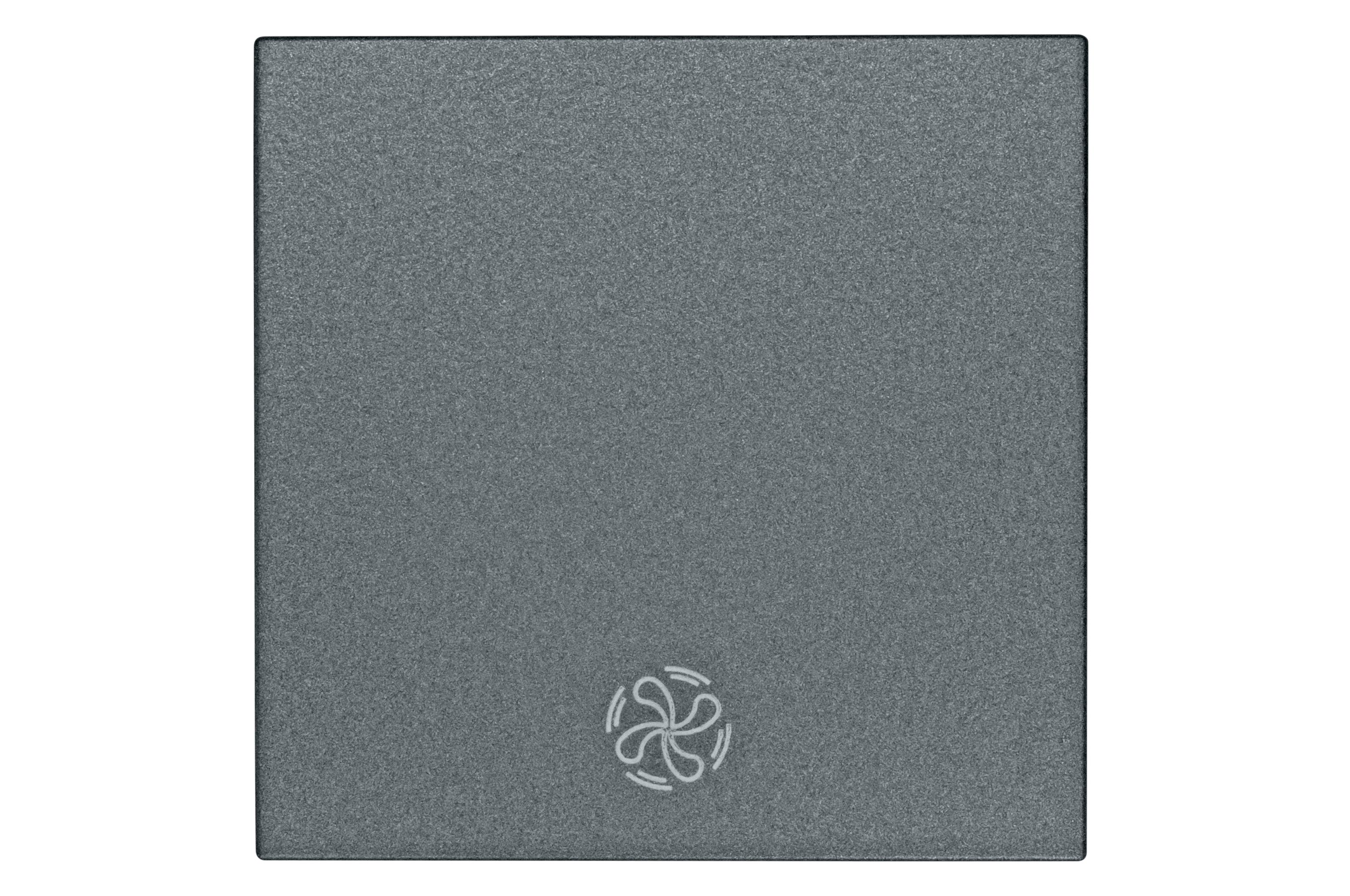 1 Stk Wippe mit Symbol Lüfter, anthrazit EV112006--