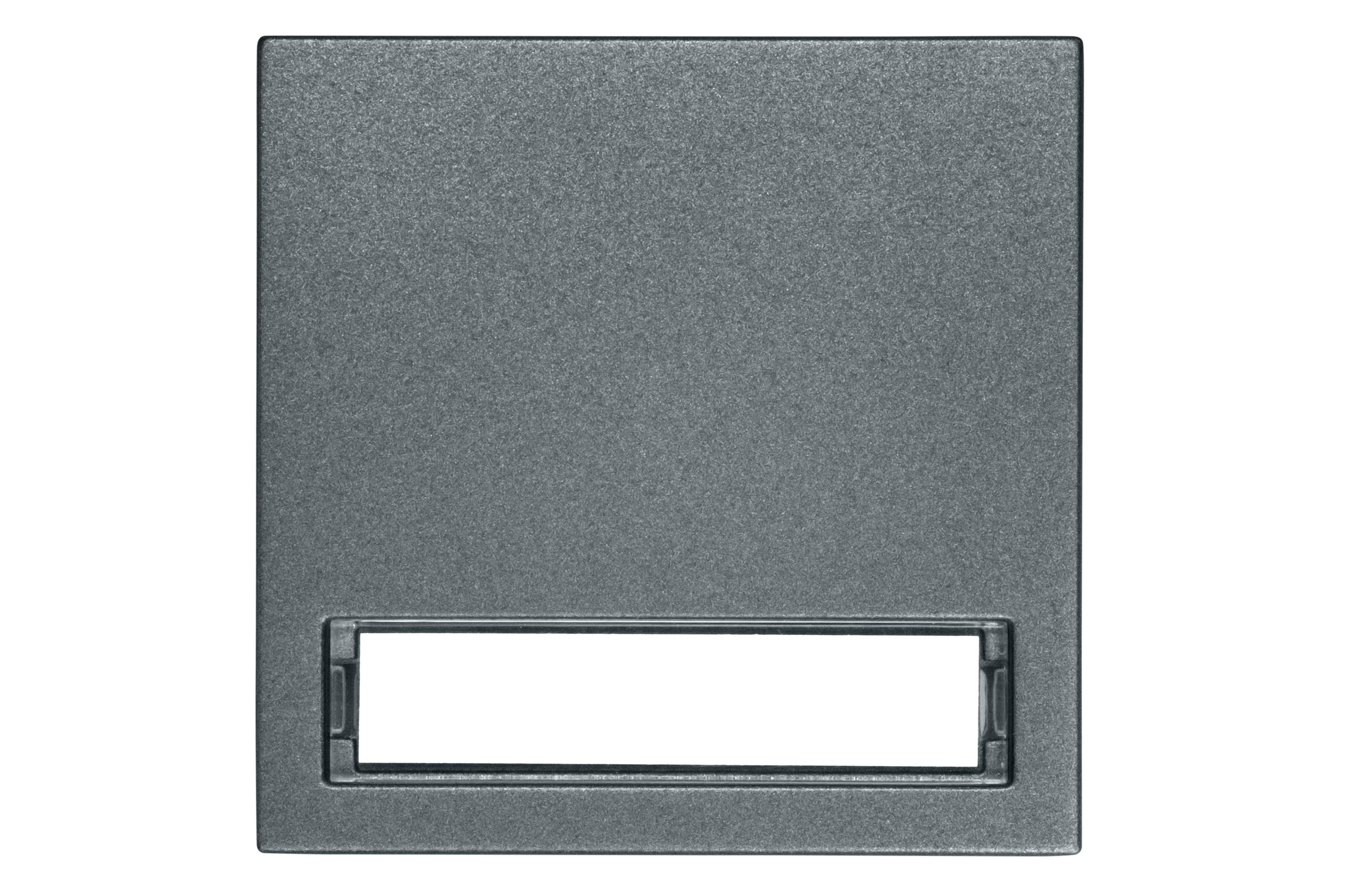 1 Stk Wippe mit beleuchtetem Schriftfeld, anthrazit EV112011--