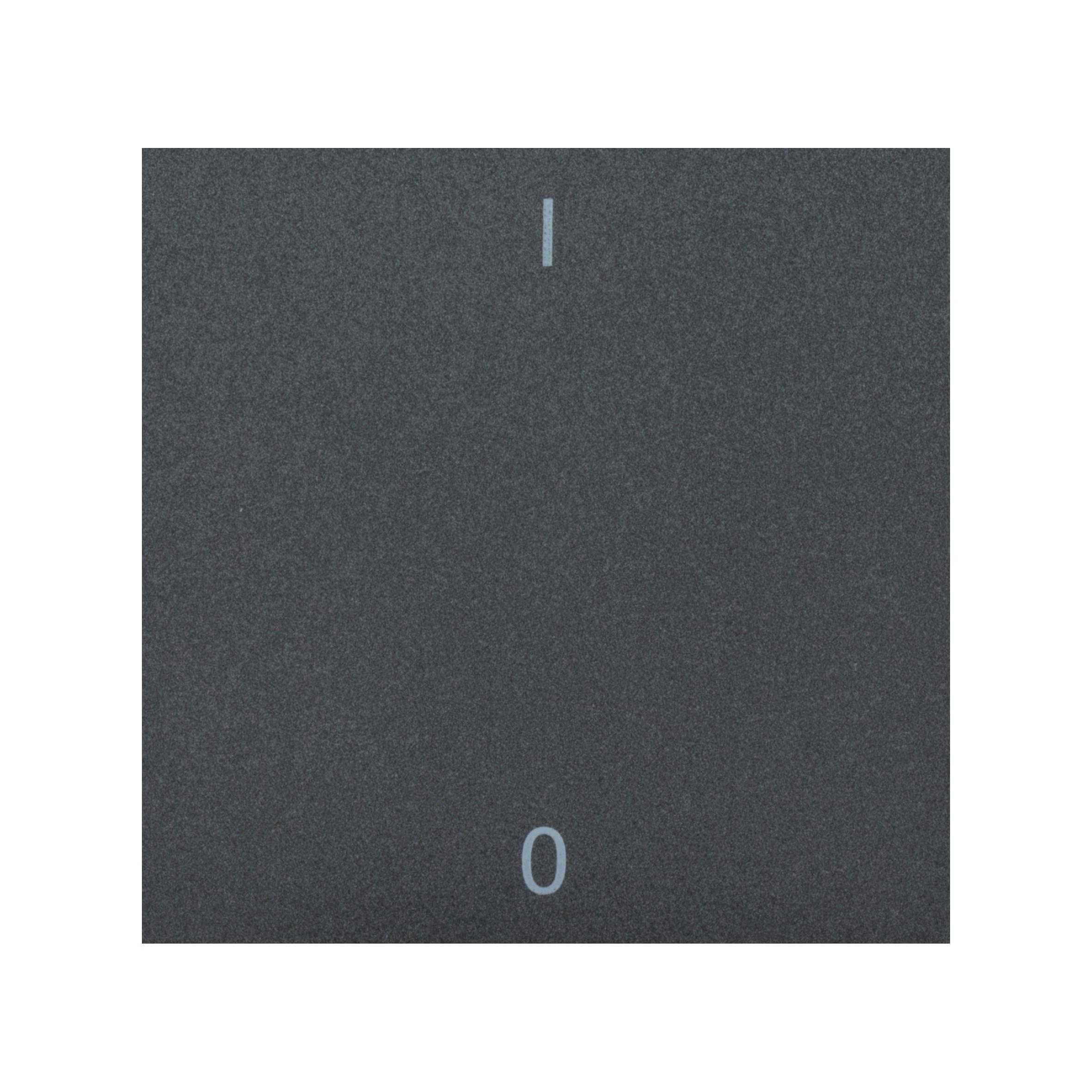 1 Stk Wippe mit Symbol EIN/AUS, anthrazit EV112017--