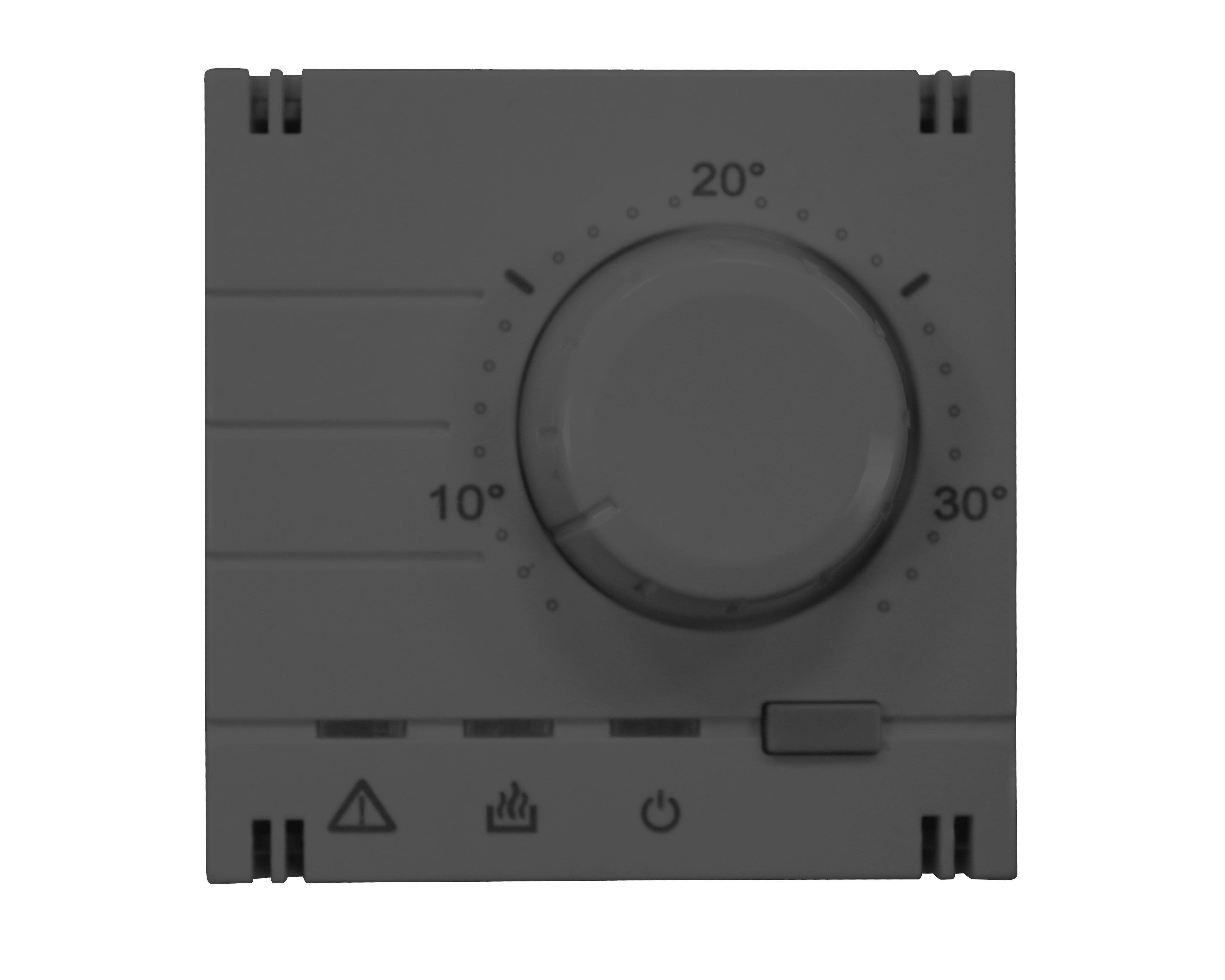 1 Stk analoger Raumthermostat-Aufsatz, anthrazit EV113011--