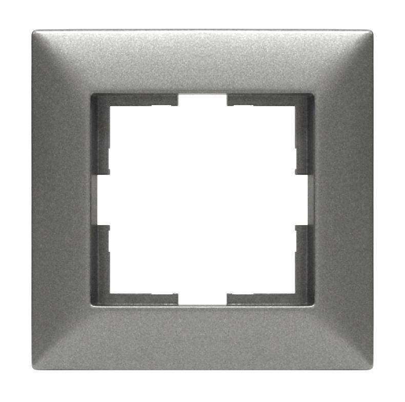 1 Stk Rahmen 1-fach, anthrazit EV115001--