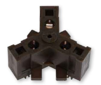 1 Stk Anschlussklemmenblock in Zugfedertechnik für Ø 85mm FRAKD30-3-