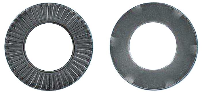 500 Stk Kontaktspannscheibe, verzahnt, Erdung, MZN, M6, Ø12mm GI41300655