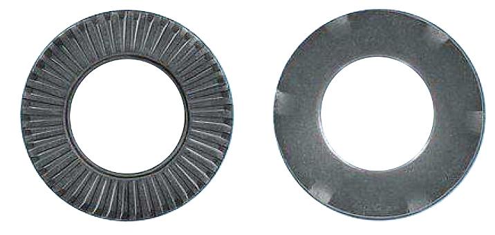 100 Stk Kontaktspannscheibe, verzahnt, Erdung, MZN, M8, Ø16mm GI41300851