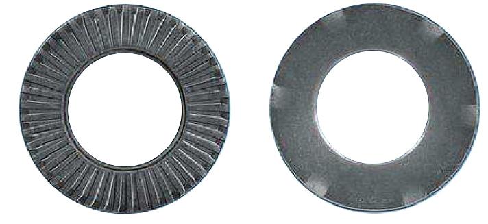 100 Stk Kontaktspannscheibe, verzahnt, Erdung, MZN, M10, Ø20mm GI41301051