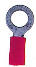 100 Stk Ringzunge isoliert, rot, 0,5-1,5mm², M5 GI5587503-