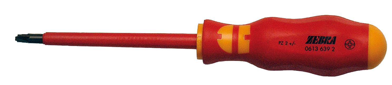 1 Stk Elektriker-Schraubendreher VDE Pozidrive PZ2 100mm, isoliert GI6136392-