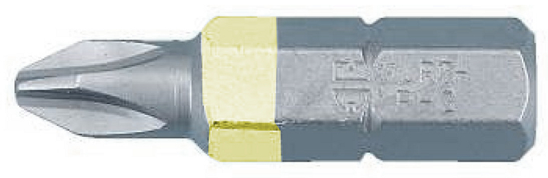 1 Stk Bit 1/4 PH-Gr1, L25mm gelb GI61417627