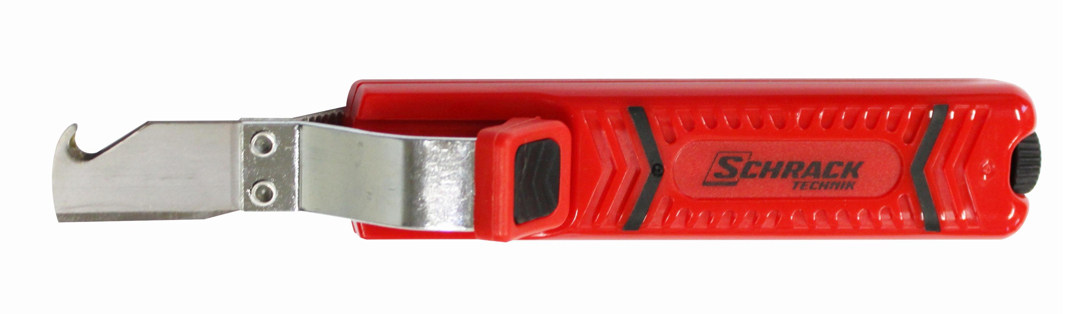 1 Stk Kabelmesser Schrack mit Hakenklinge, Universal: 8-28mm GI7144104-