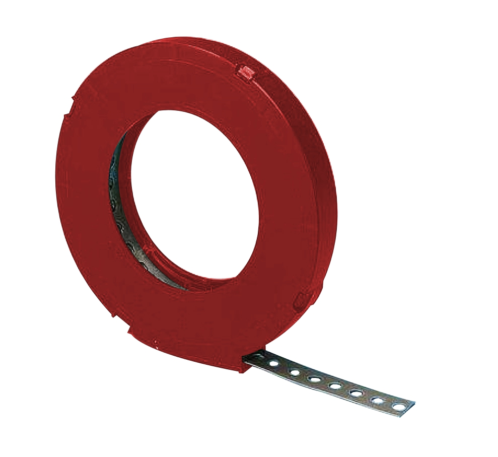 1 m Montagelochband metall D=5,3mm B=12mm, 10m Rolle GI97212961