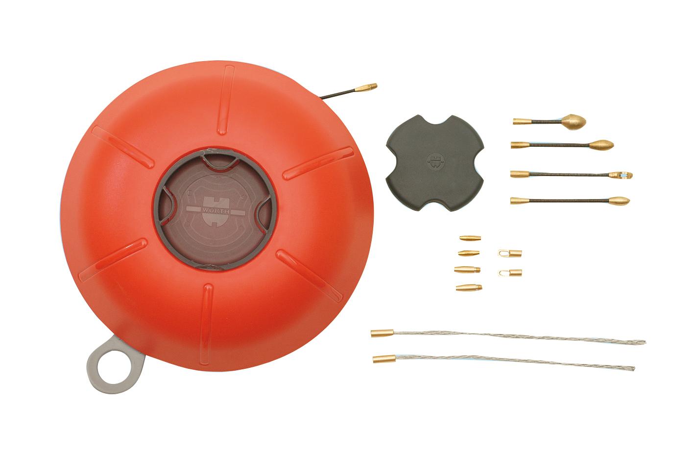 1 Stk Kabeleinzugssystem Glasfaser 30m d=3mm Komplett-Set GI97580119