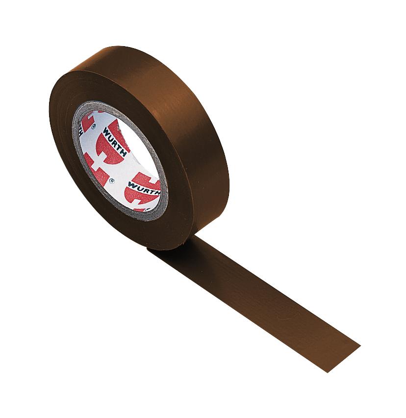 1 Stk Isolierband braun 15mm x 10m-Coroplast GI98590902