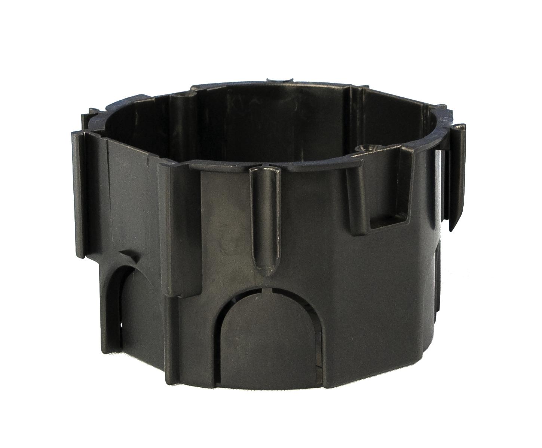 100 Stk UP-Kombi Schalterdose d67xt45mm, schwarz, PS GTDU810---