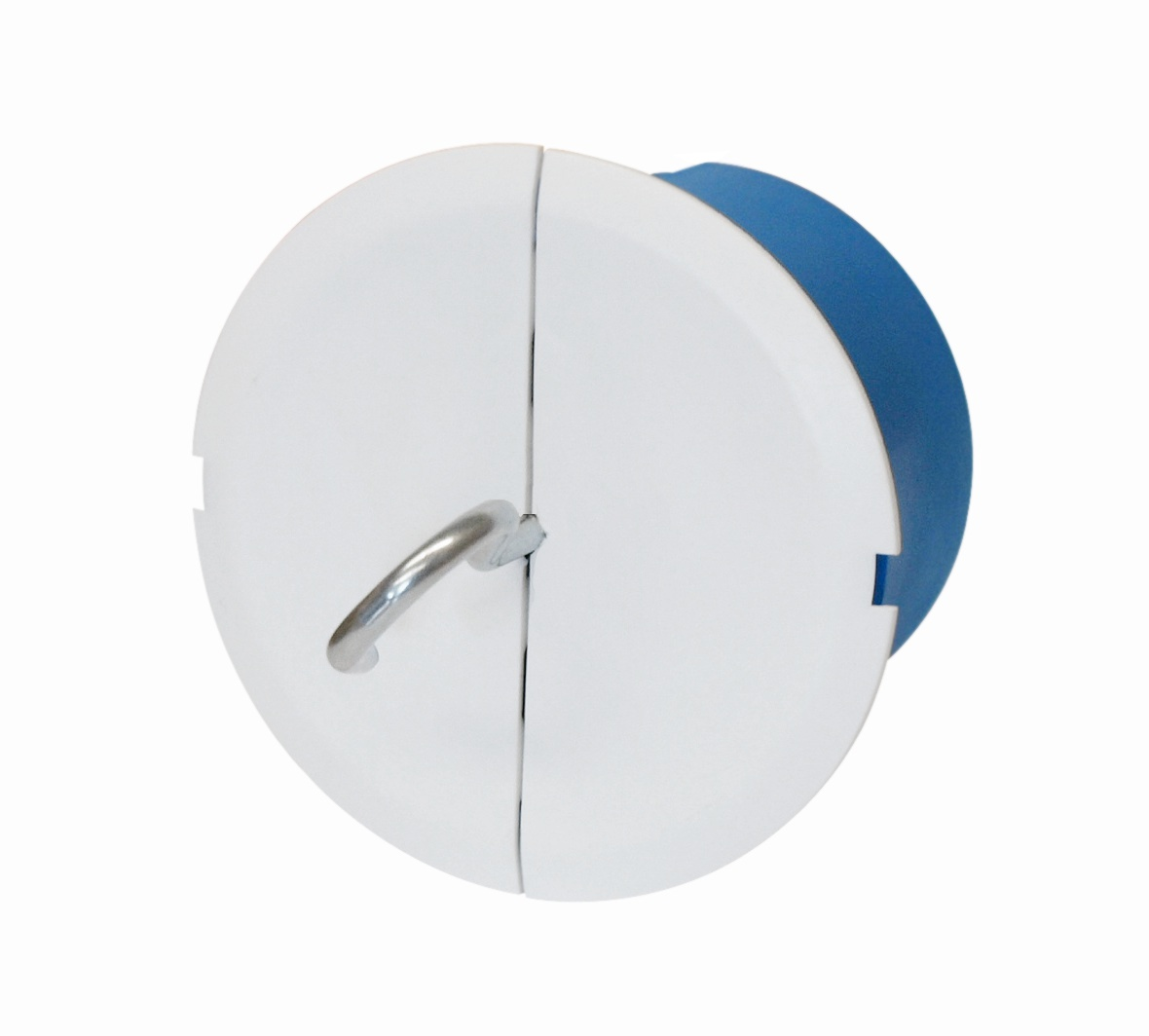 100 Stk Deckenleuchtendose f.Zwischendecken+Haken+M6, bis 25kg, blau GTDUD850--