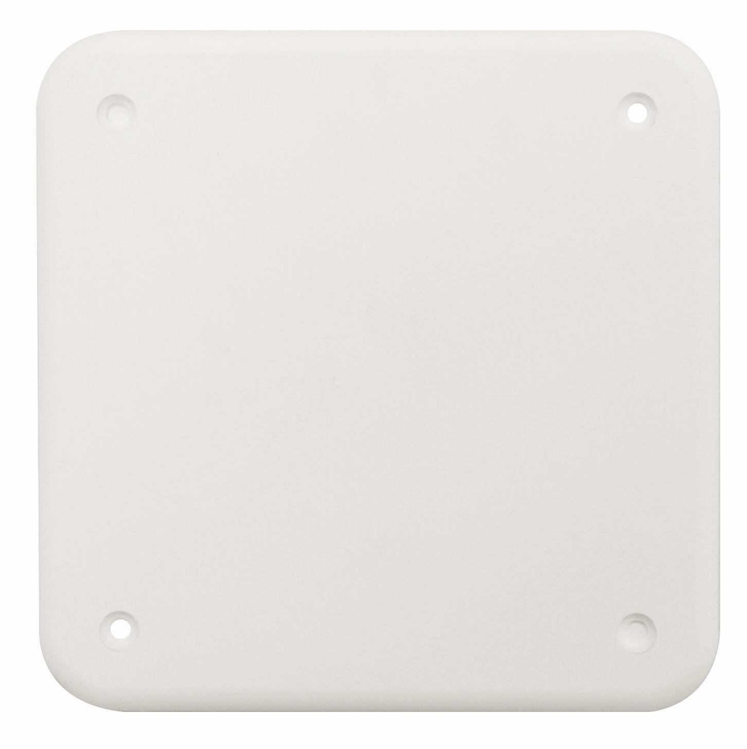100 Stk Ersatzdeckel weiß für UP-Abzweigkasten 100x100mm GTDW141 GTDW141D--